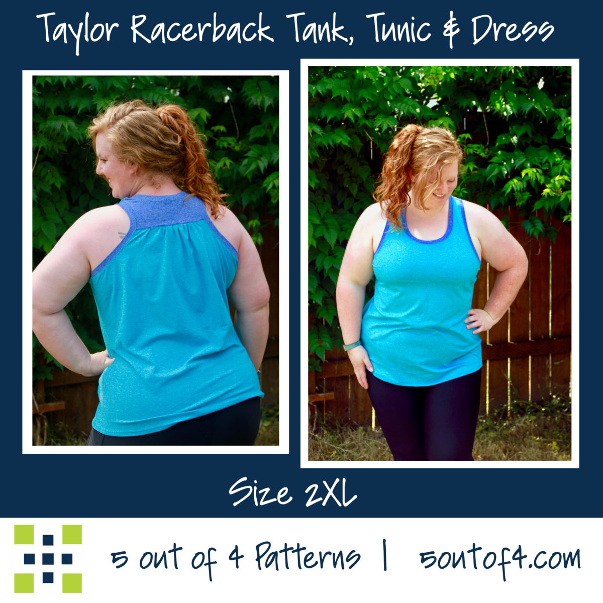 Taylor Racerback Gather back tank