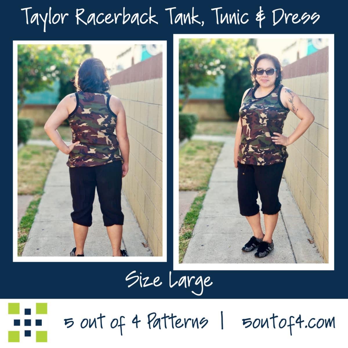 Taylor Racerback Tank