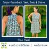 Taylor Racerback a-line dress