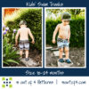 kids' swim5oo4 Kids' Swim trunks size 18-24 m short