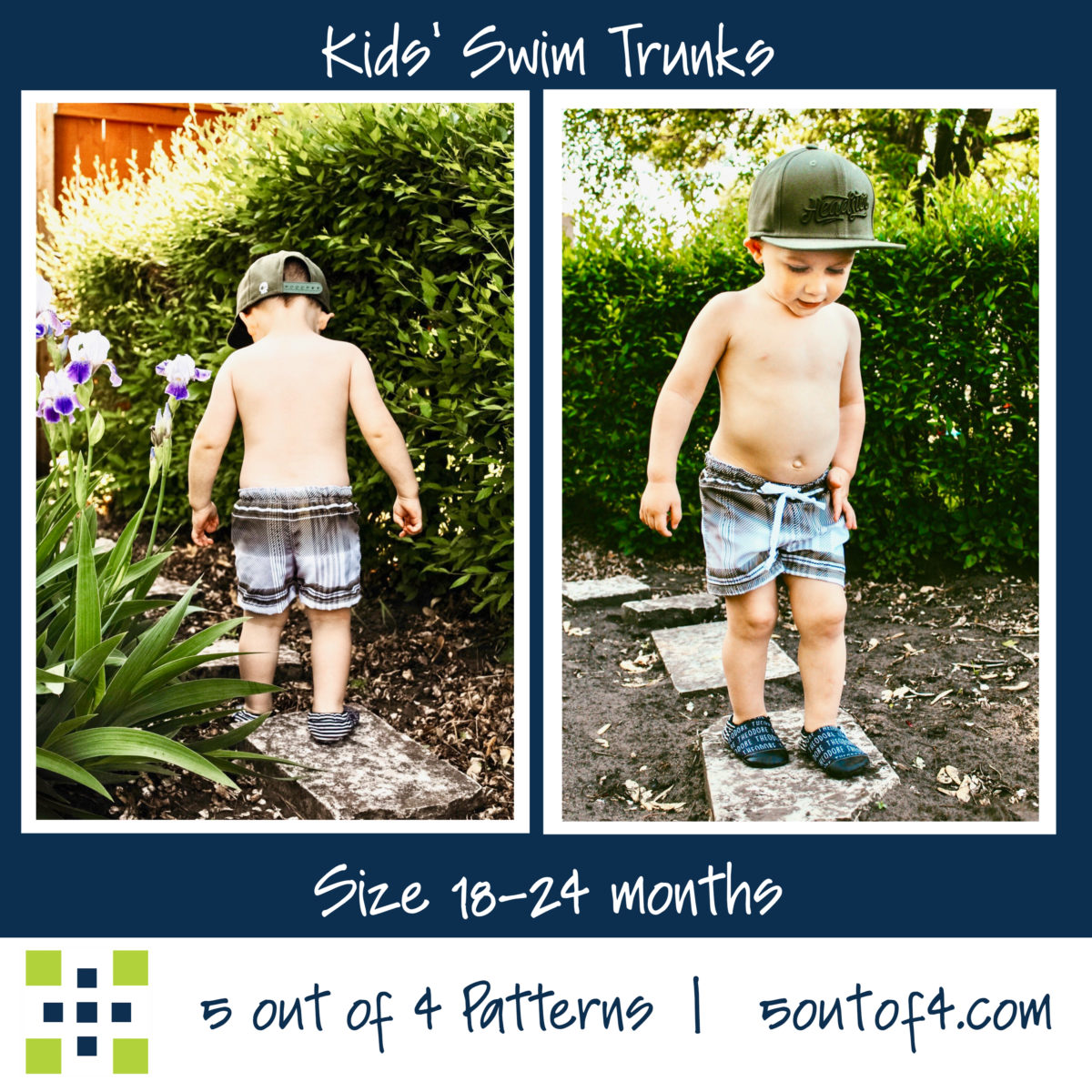 kids' swim5oo4 Kids' Swim trunks size 18-24 m short