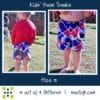 5oo4 kids' swim trunks size 5