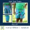 5oo4 kids' swim trunks size 6:7