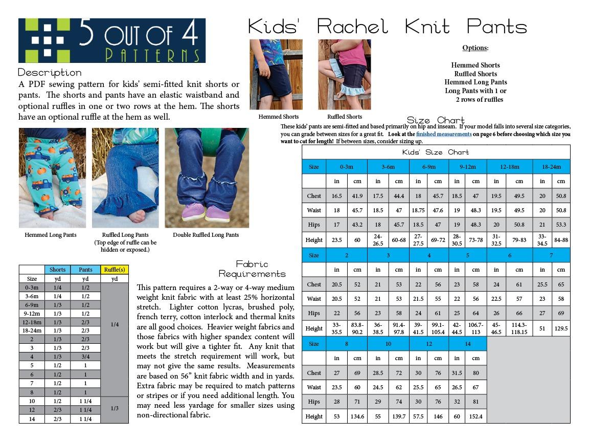 5oo4 Rachel Knit Pants Info Page