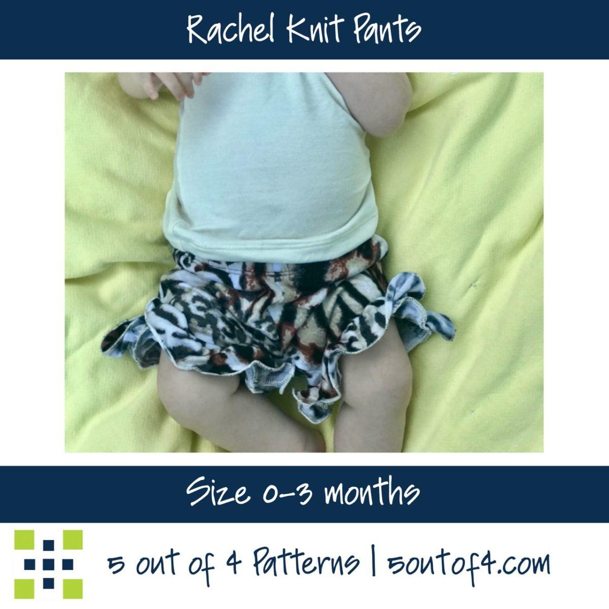 5oo4 Rachel Knit Pants Size 0-3m ruffle shorts (1)