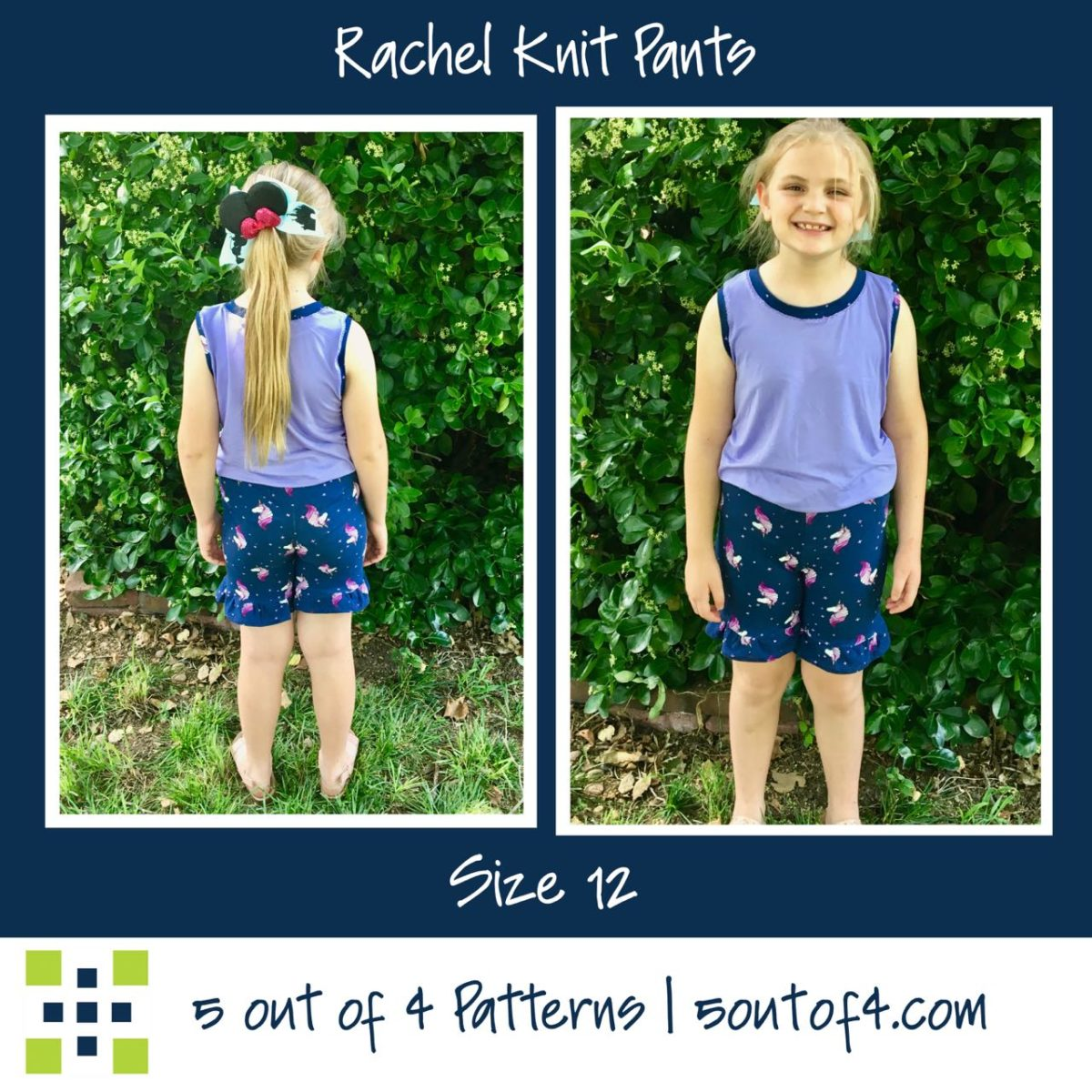 Rachel Knit Pants Size 12 ruffle shorts
