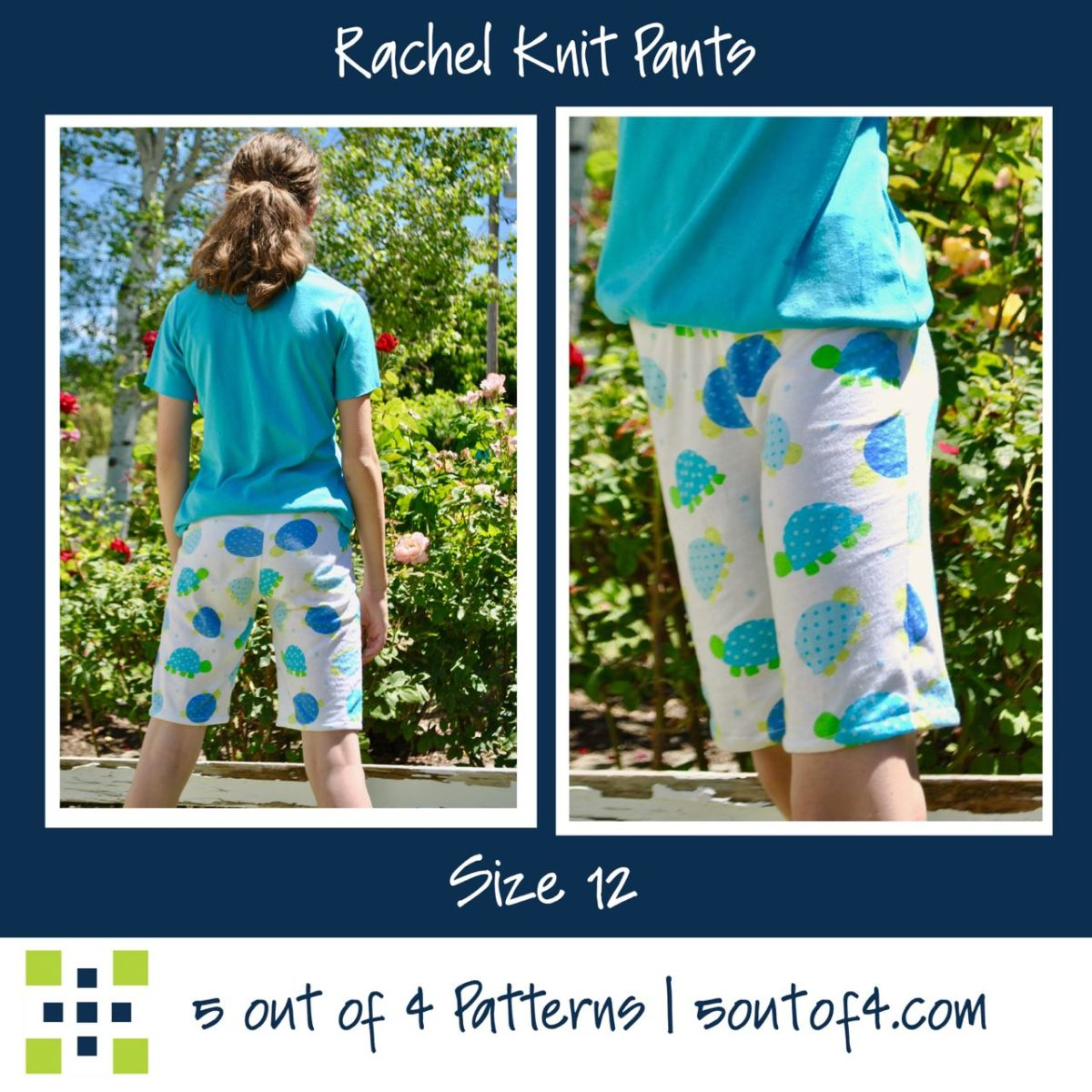 Rachel Knit pants size 12 shorts (1)