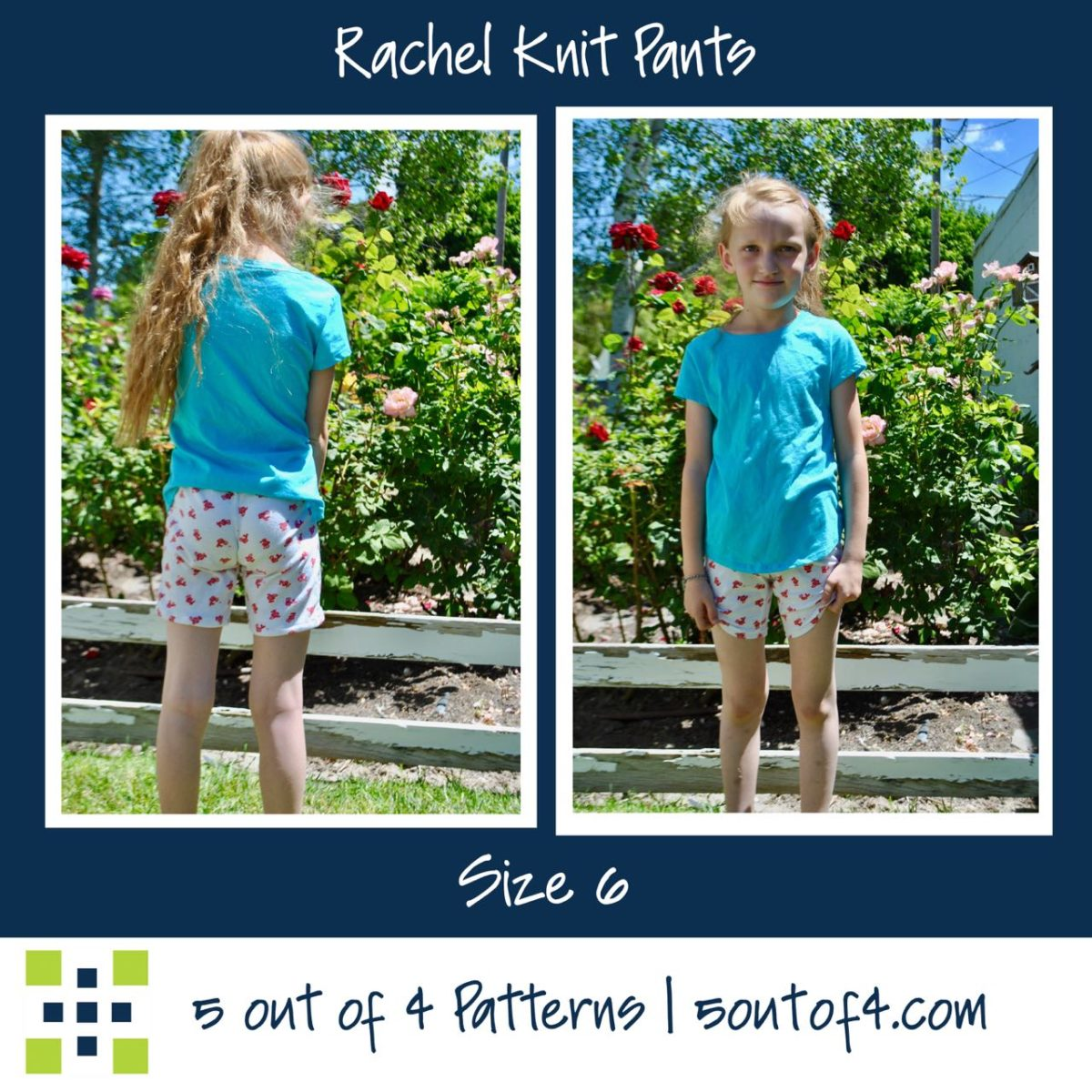 Rachel 5oo4 Knit pants size 6 shorts (1)