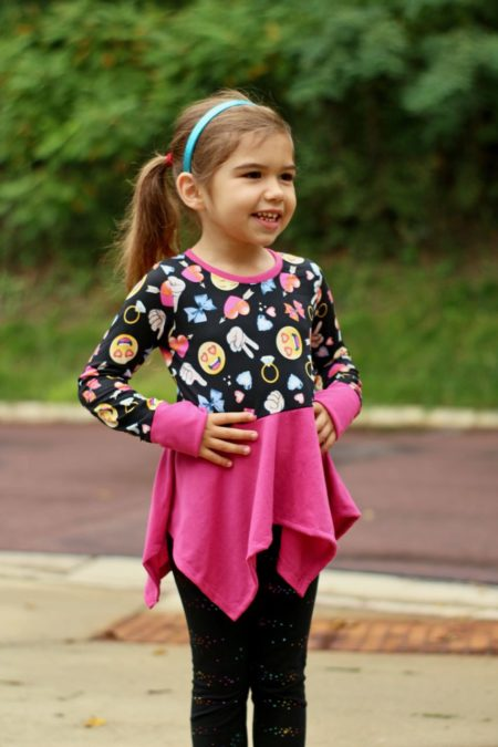 5oo4 Kids Piper Peplum Size 4(4)