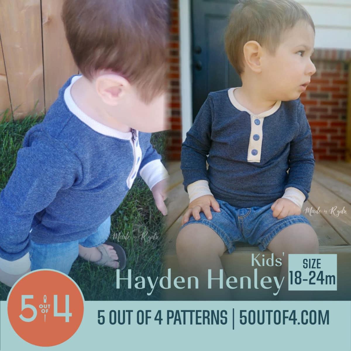 5oo4 Kids' Hayden Henley