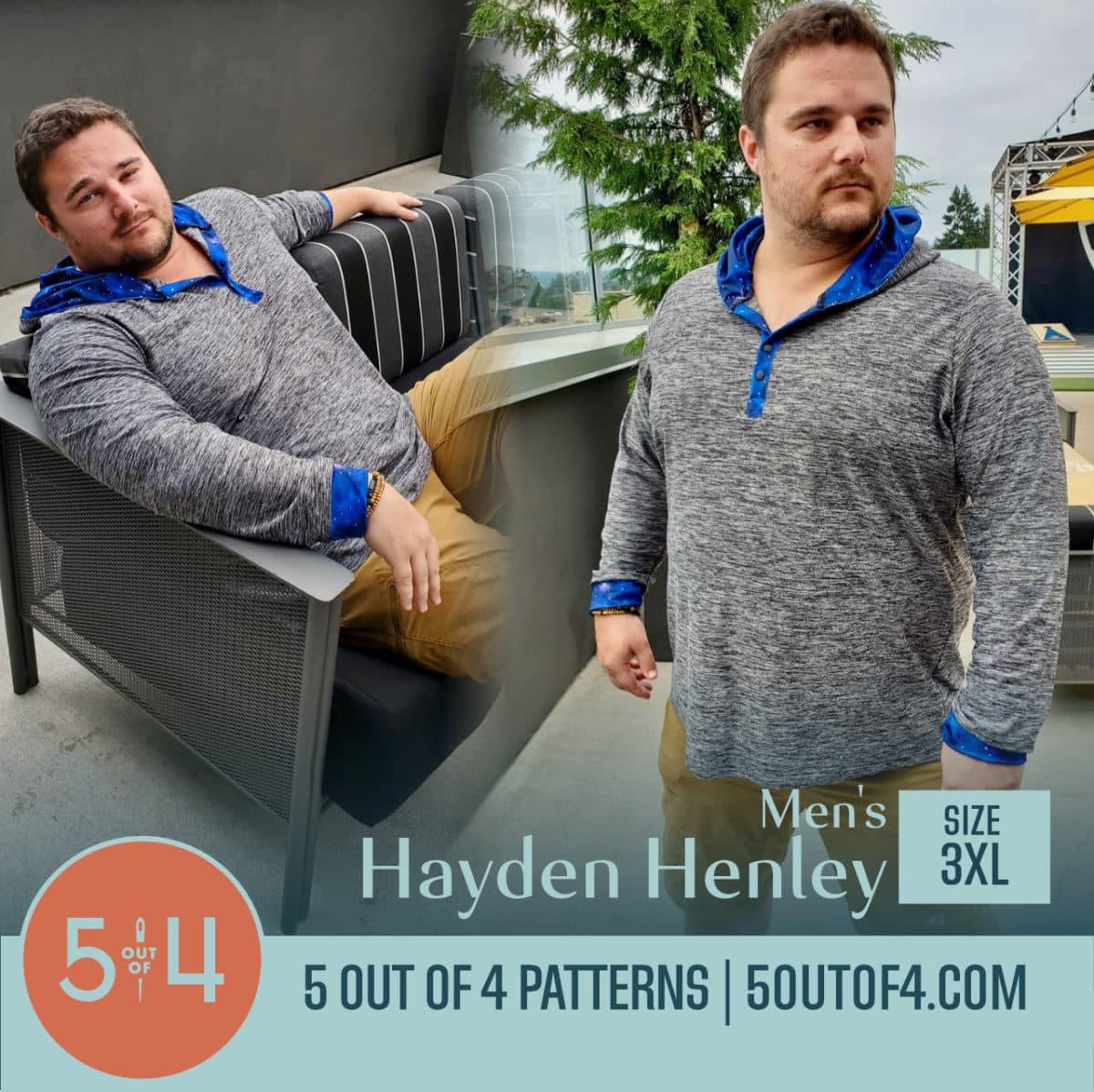 5oo4 Men's Hayden Henley