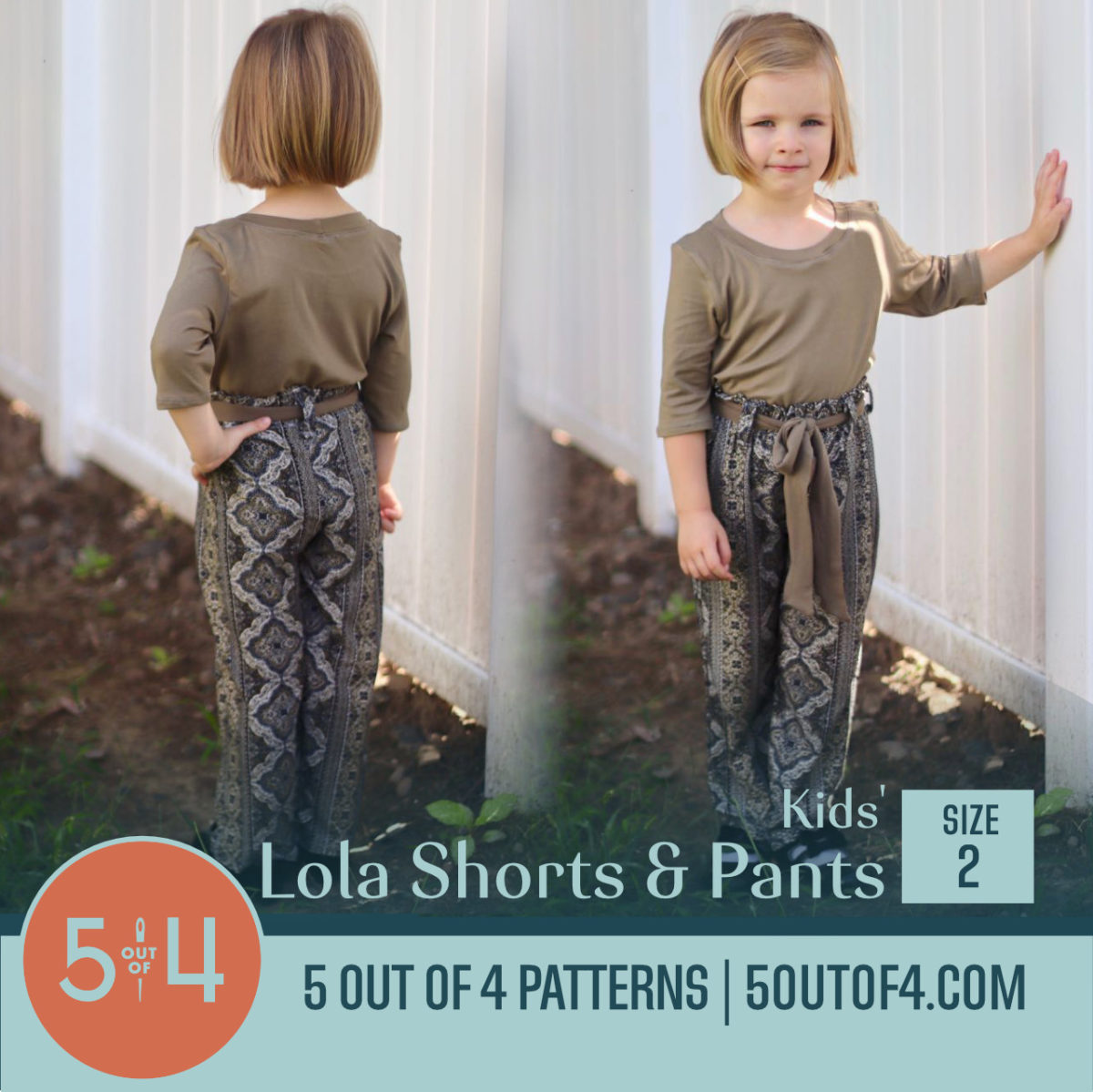 kids lola shorts and pants 2