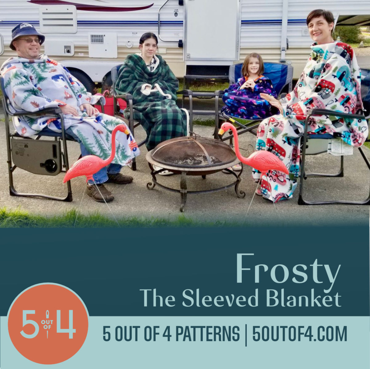 FREE Frosty the Sleeved Blanket