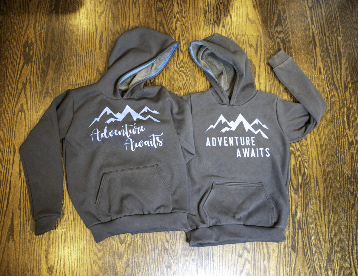 Adventure Awaits Halftime Hoodies