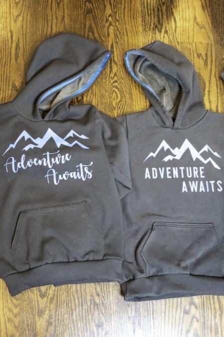 Adventure Awaits Halftime Hoodies