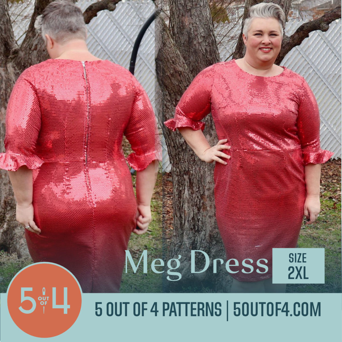 Meg Dress 2xl Tea Length