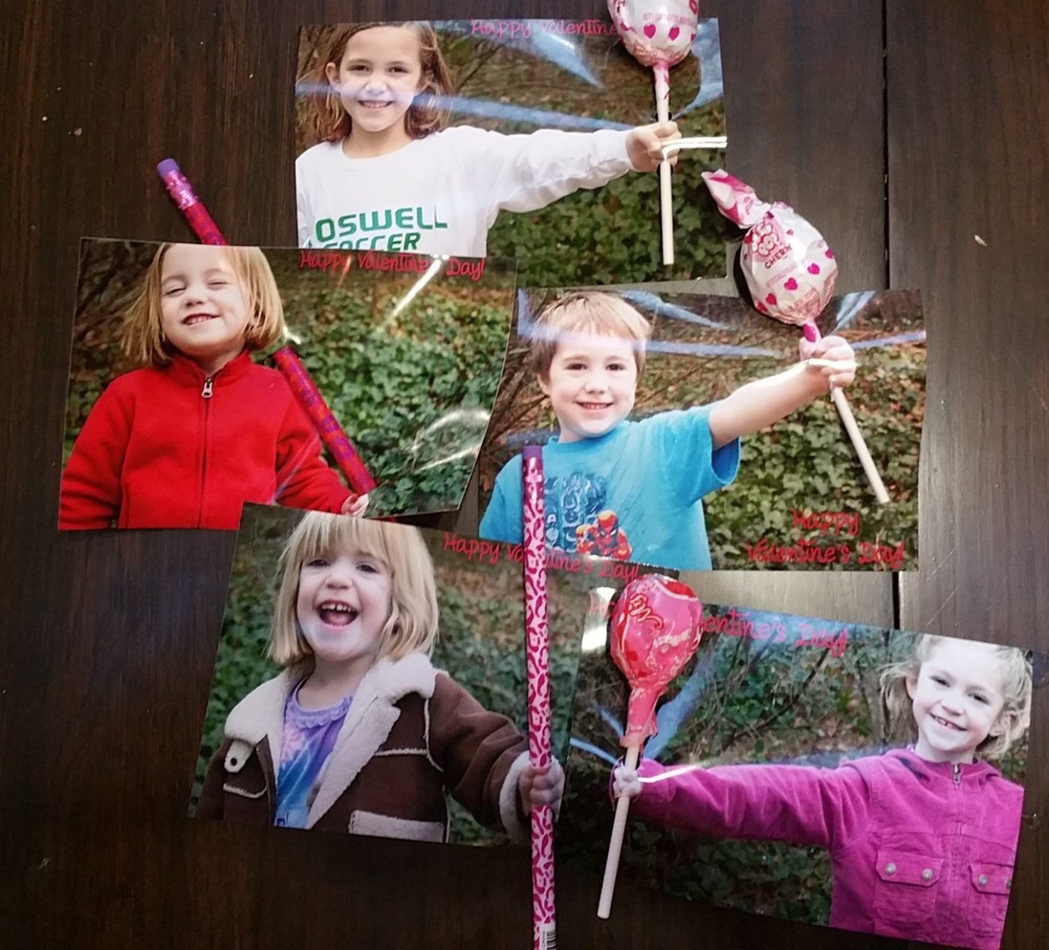 DIY Photo Valentines