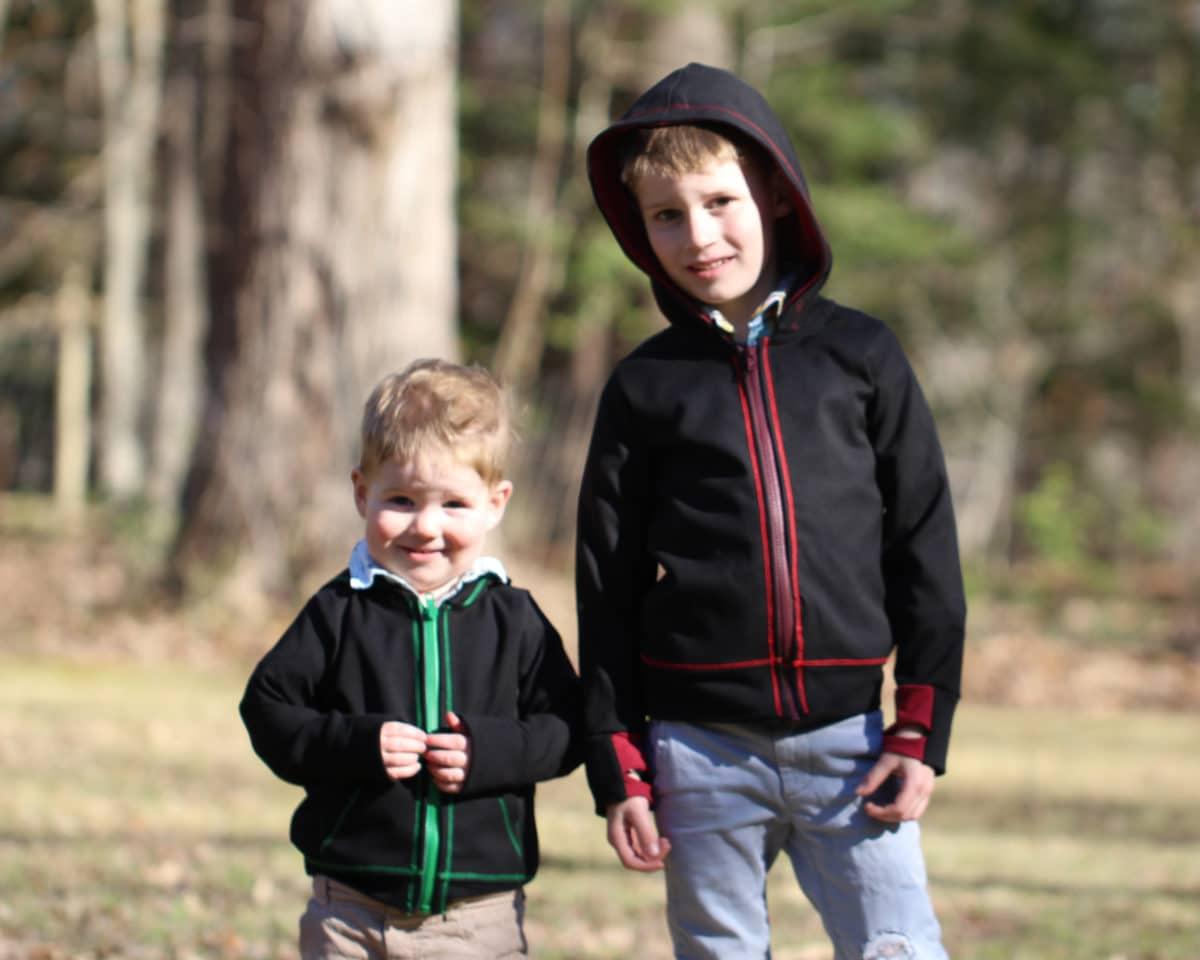 5oo4 Kids' Sweatshirt Jacket sz2 sz 4 6 hood