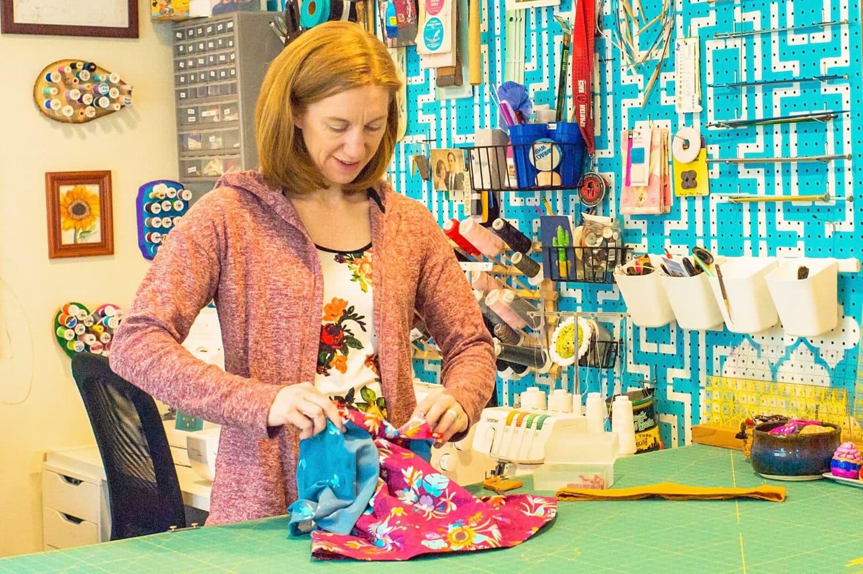 Jess sewing