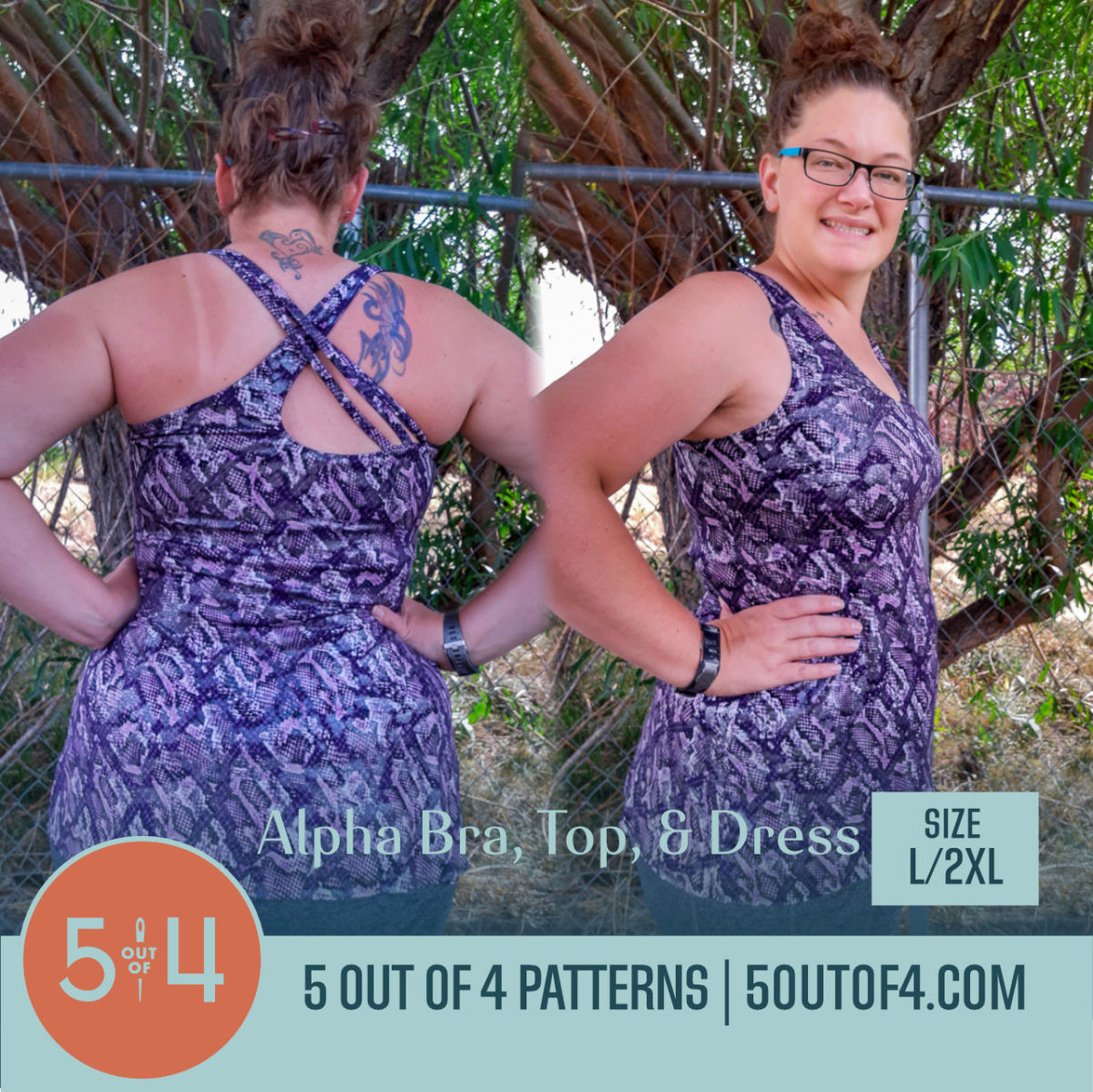Alpha Bra, Top, & Dress L:2XL