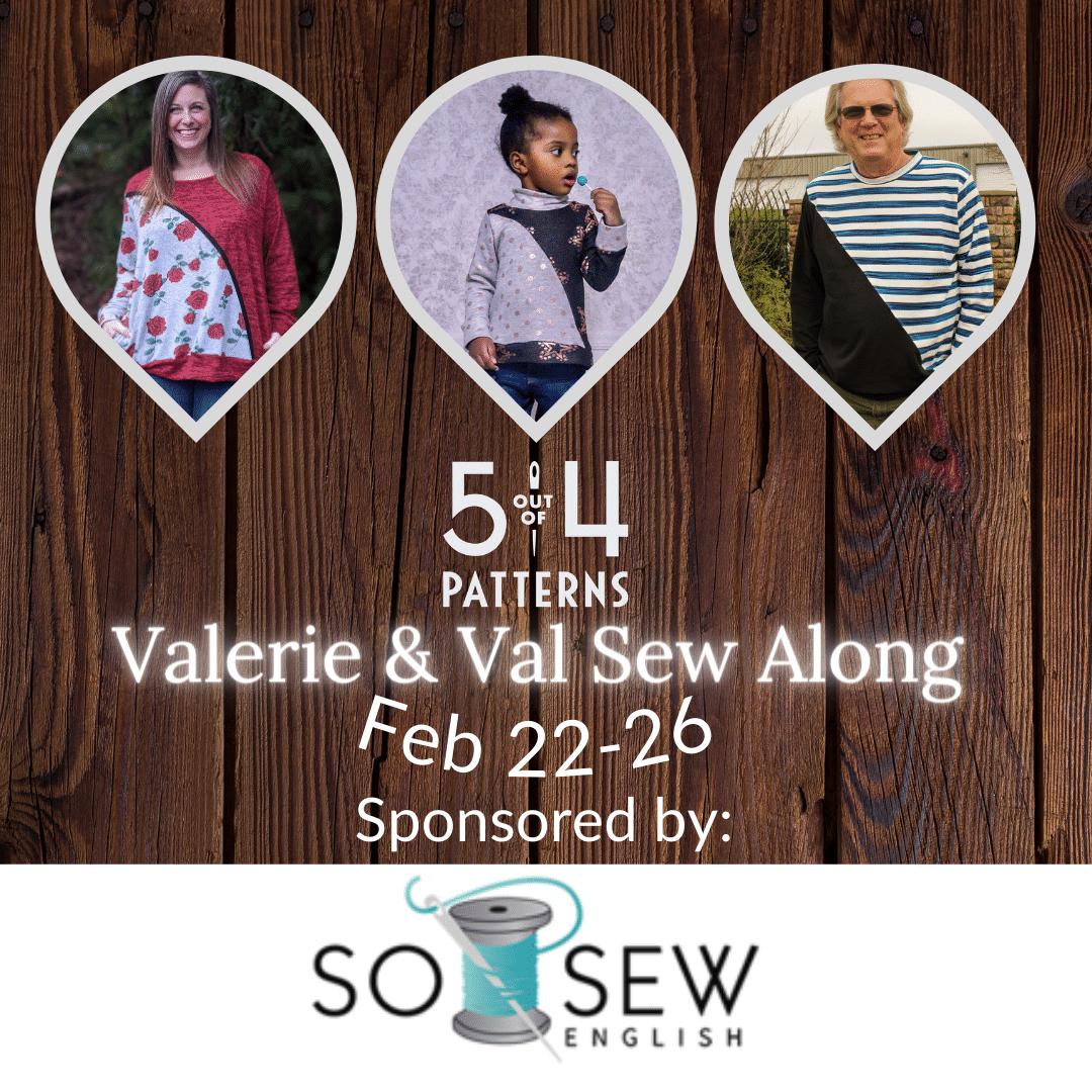 Valerie & Val sew Along