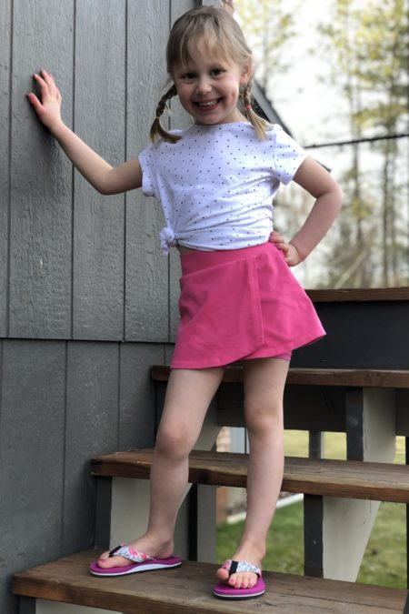 5oo4 Kids' Adventure Skort