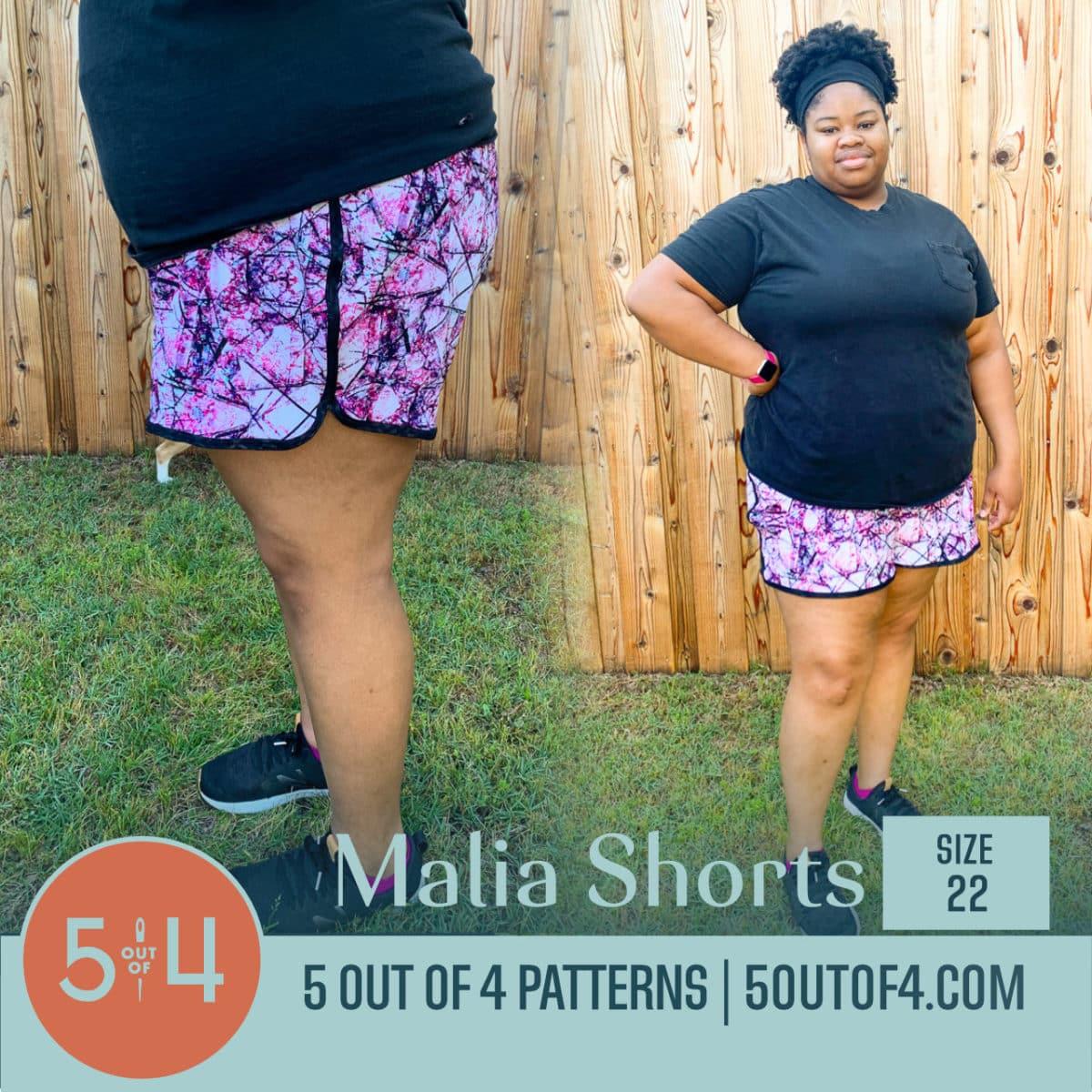 Malia Shorts Size 22