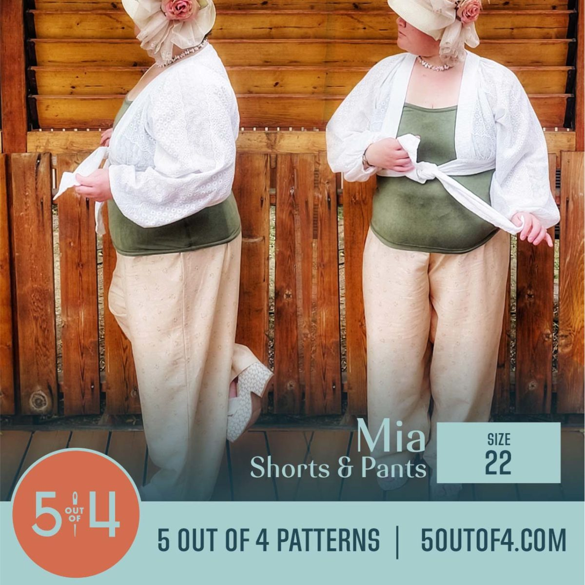 5oo4 Patterns Mia Pants size 22