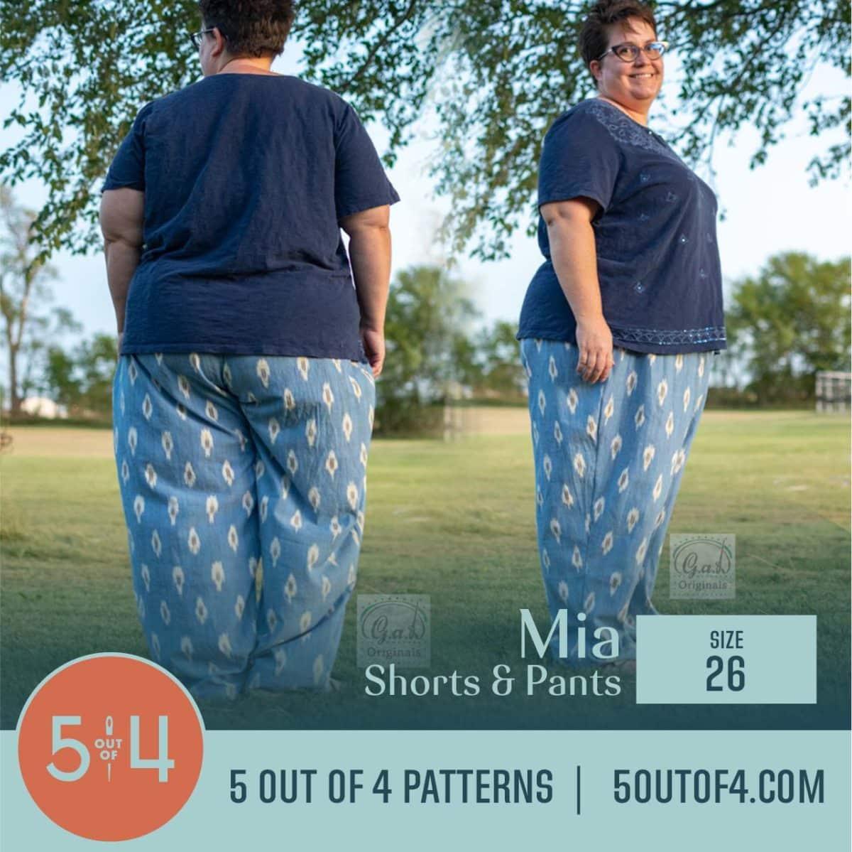 5oo4 Patterns Mia Pants size 26