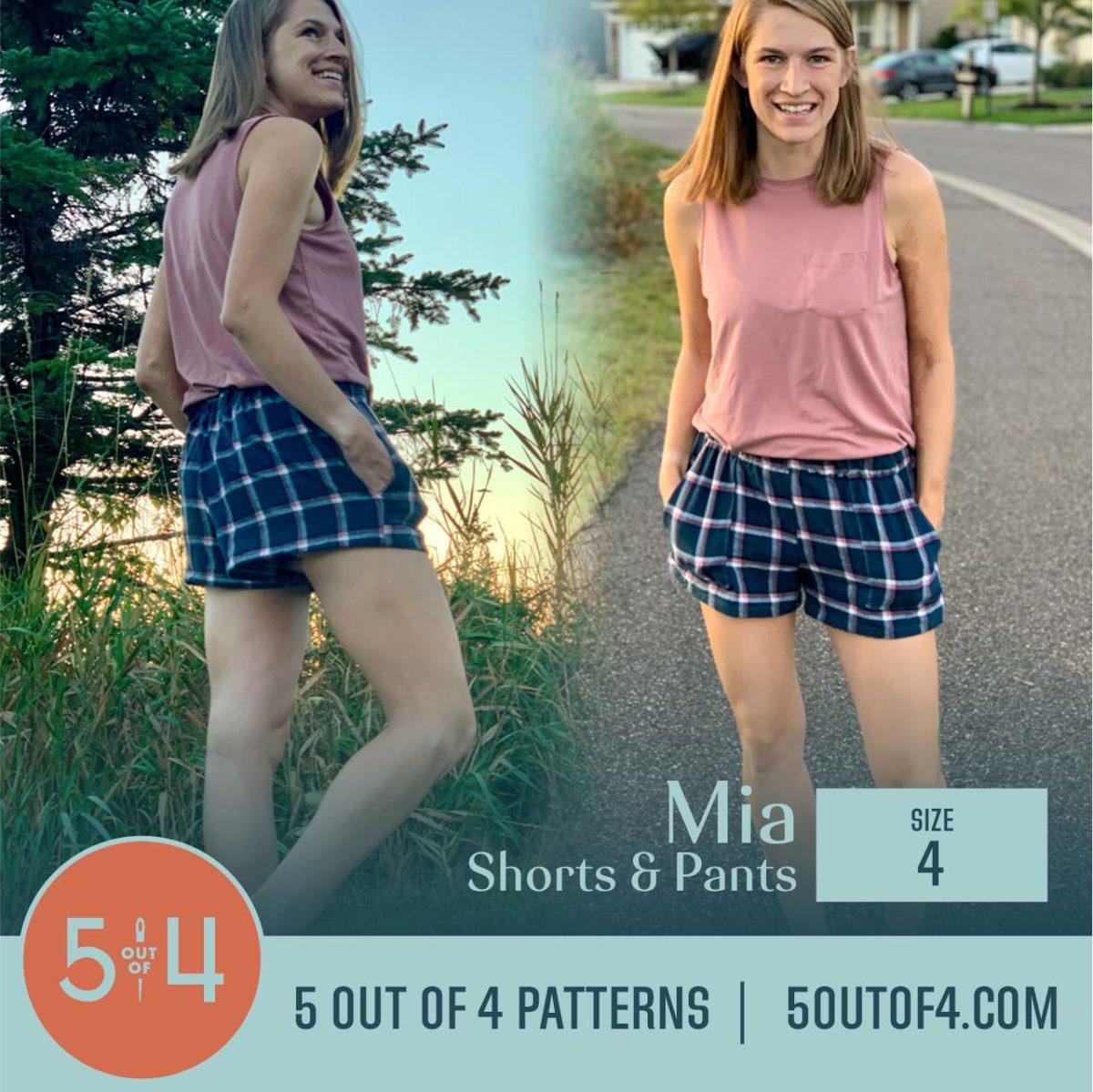 5oo4 Patterns Mia Pants size 4