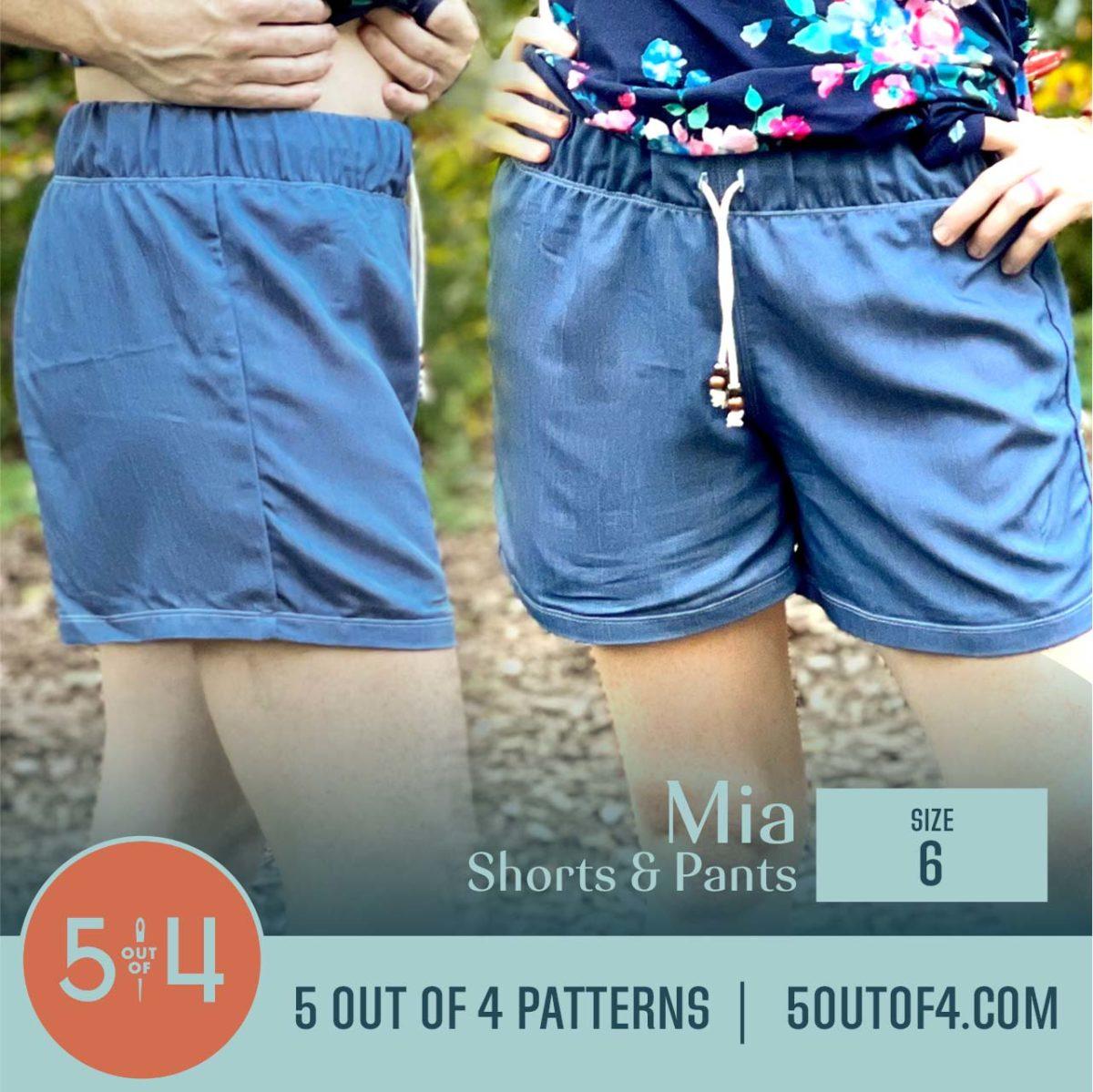 5oo4 Patterns Mia Pants size 6