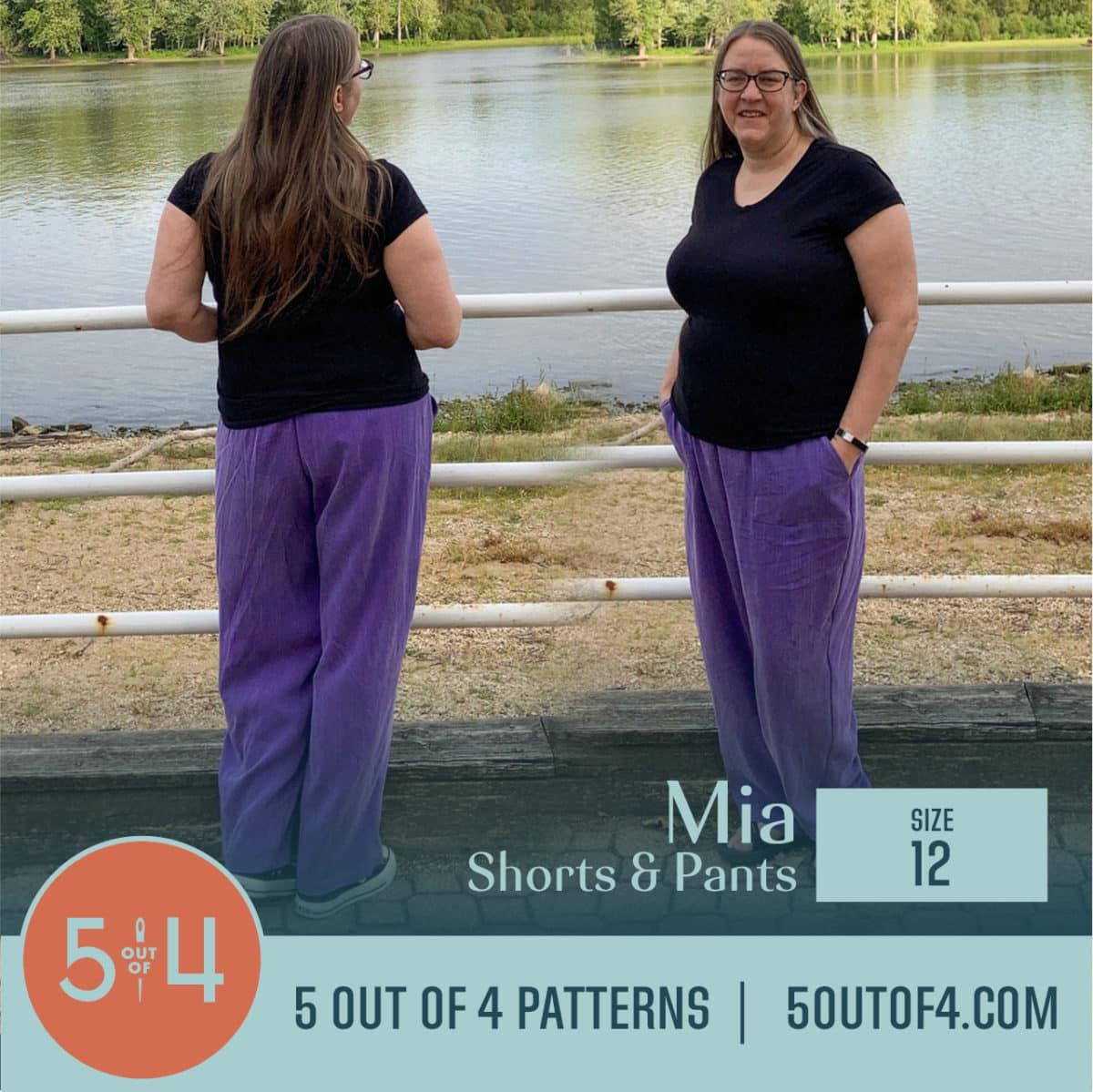5oo4 Patterns Mia Pants size 12